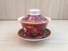 ถ้วยรินชาสีแดง ลายโป๊ยป้อ#1[159]