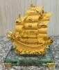 เรือทองจิ๋ว(ฐานกระจก)[1600191]