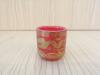 ถ้วยน้ำชาเดี่ยว(สีแดง ลายมังกร)[29]