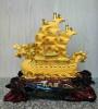 เรือหัวมังกรทองทราย(ฐาน)24นิ้ว[4599][1500239]