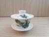 ถ้วยรินชาสีขาว ลายบ้าน#2[99]