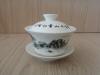 ถ้วยรินชาสีขาว ลายวิวดำ#1[199]