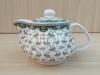 กาน้ำชา ลายใบไม้เทา[259]
