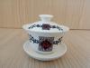 ถ้วยรินชาสีขาว ลายตัวฮก#2[99]