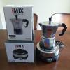 ชุดหม้อต้มกาแฟสด มอคค่าพอท 3 ถ้วย พร้อม เตาไฟฟ้ามินิ 500W
