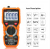 PEAKMETER ดิจิตอลมัลติมิเตอร์ วัดไฟ รุ่น PM18C