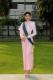 นางสาวไทย สวมใส่ชุดไทยบรมพิมานประยุกต์เพื่อต้อนรับนางงามจากต่างประเทศ