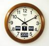 นาฬิกาพร้อมกับปฎิทินแบบแผ่นพับ TWEMCO BQ-368