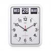 นาฬิกาแขวนผนังพร้อมปฏิทินแบบแผ่นพับ TWEMCO BQ-12A