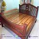 เปลี่ยนห้องให้ดูหรูแบบง่ายๆด้วยเตียงนอนไม้สัก