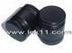 29 mm Black aluminum screw caps