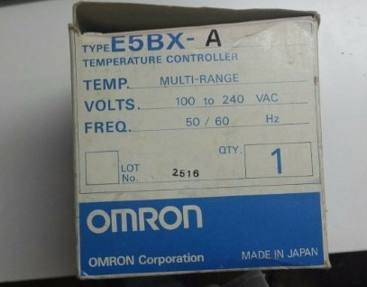 OMRON TEMPERATURE CONTROLLER MODEL E5BX-A ราคา 6237 บาท