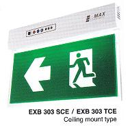LED EXIT SIGN LIGHTING EXB 303TCE