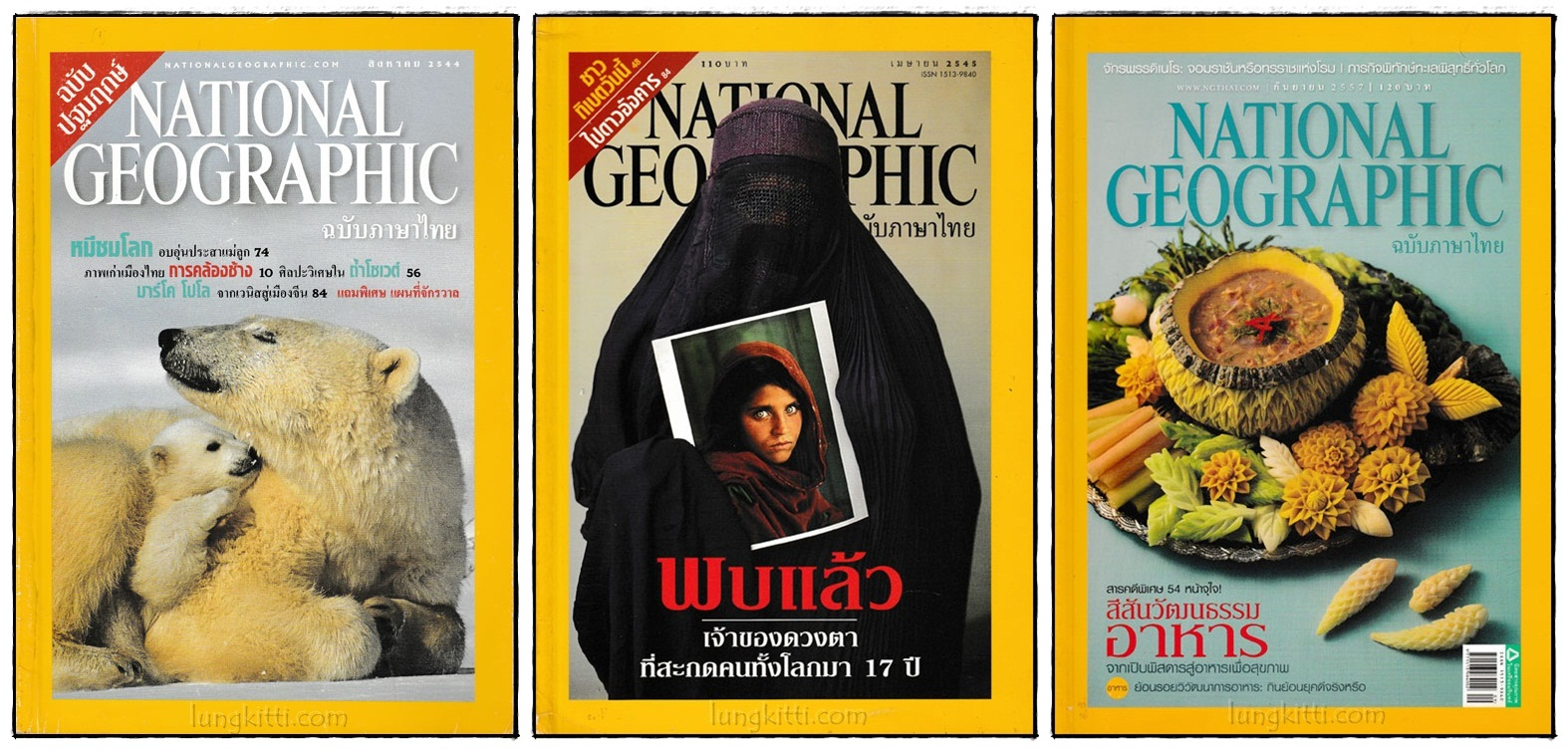 NATIONAL GEOGRAPHIC (3 เล่ม)