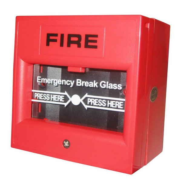FIRE Break Glass Resettable Manual