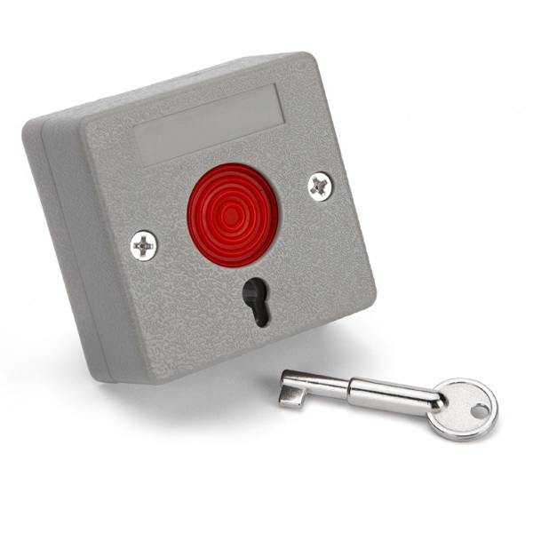 Panic Push Button With Key Reset ฯลฯ