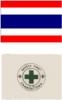 ธงเซฟตี้ / ธงชาติ 8x120cm.
