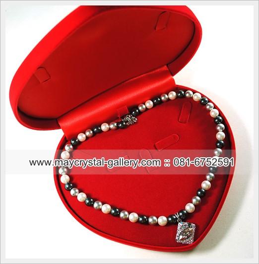 กล่องกำมะหยี่หัวใจ,กล่องใส่เครื่องประดับ,jewelry box