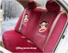 ชุดหุ้มเบาะรถยนต์ แบบผ้า ลาย:พอลแฟรง แบบยกชุด 20 ชิ้น