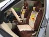 ชุดหุ้มเบาะรถยนต์ แบบผ้า ลาย: หมีพูห์ แบบยกชุด 20 ชิ้น