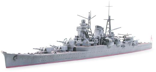 """IJN Mikuma """"Midway"""" 1/700 By น้ำฝน"""