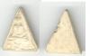 พระนางพญาพิมพ์หลวงพ่อวัดไร่ขิงทรงไก่ เนื้อผง พิมพ์สามเหลี่ยม รับประกันแท้แน่นอน