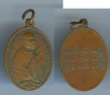 เหรียญหลวงพ่อคล้ายวัดสวนขันรูปไข่เนื้อทองแดมีสายสิญ3