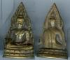 ชินราชอินโดจีน เนื้อทองเหลืองหล่อ พิมพ์หน้านางสังฆฎิยาว มีโค๊ต4