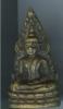 พระชินราช เนื้อทองเหลือง พิมพ์หน้านางสังฆฏิยาว มีโค๊ต