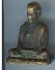 รูปหล่อหลวงพ่อทบ พิมพ์ฐานเตี้ย วัดชนแดน เนื้อทองเหลือง