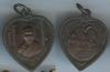 เหรียญหลวงพ่อเกษม สุสานไตรลักษณ์ ฉลองอนุสาวรีย์เจ้าแม่สุชาดา ปี2517 (เหรียญแตงโม).