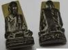 พระรูปหล่อหลวงพ่อเขียน ธัมมรักขิโต วัดสำนักขุนเณรเนื้อทองเหลืองหล่อ2