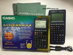 การตรวจเช็คเครื่องคิดเลขมือ 2 Casio Algebra fx 2.0