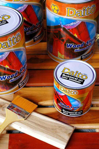 สีย้อมเเละรักษาเนื้อไม้ ไดโตะ ( Wood Stain )