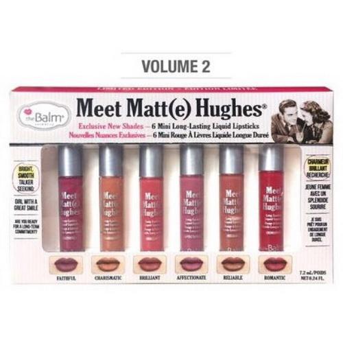 Pre-order : The Balm Meet Matte Hughes 6 Mini Long Lasting Liquid Lipstick (vol.2) - คลิกที่นี่เพื่อดูรูปภาพใหญ่