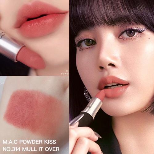 *พร้อมส่ง* MAC Powder Kiss Lipstick - no.314 Mull it Over - คลิกที่นี่เพื่อดูรูปภาพใหญ่