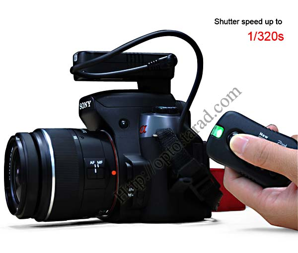 Pawn TF-363 Flash Trigger and Wireless Remote For Sony S6 3