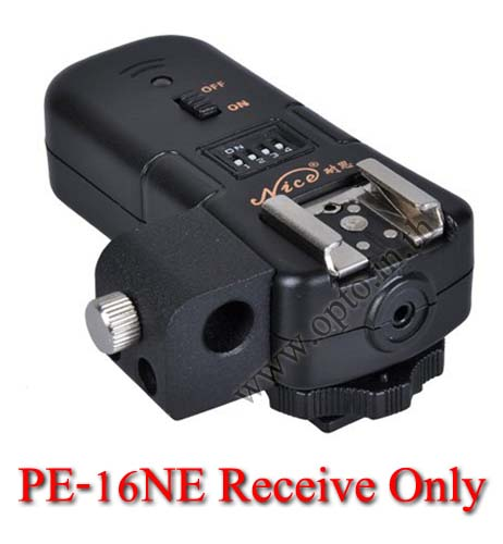 PE-16NE Flash Trigger For Nikon Receive Only