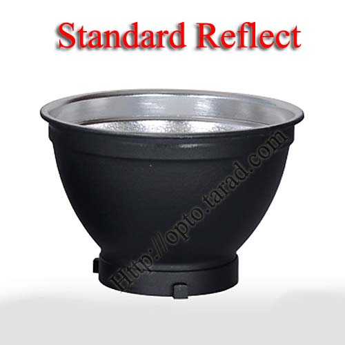 Standard Reflect Dish 170mm Mount Bowens (แบบไม่มีรูร่ม)