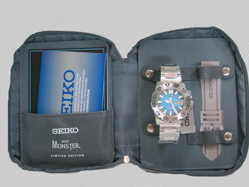 SEIKO MINI MONSTER LIMITED EDITION SNZH47