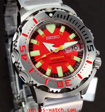 SEIKO RED MONSTER SKZ243K1 LIMITED EDITION
