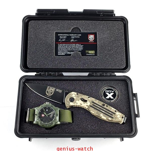LUMINOX 8817-GO SOG SET