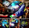 หมวกกันน็อค AGV K3SV Rossi Misano 2015 แว่น2ชั้น