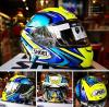 SHOEI X SPIRIT III DAJIRO TC1 BLUE