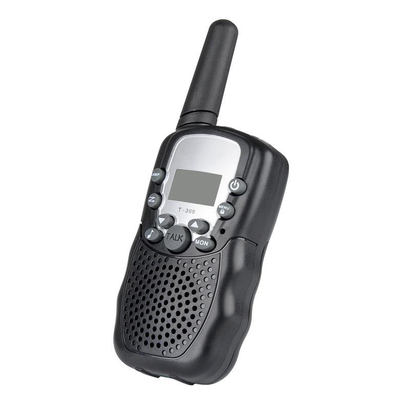 WT01-วิทยุสื่อสาร 22ช่อง (1คู่) - สีดำ