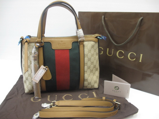 dea0a14d2b Gucci Rania Original GG canvas top handle bag Top mirror 7 stars ...