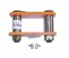 โตงเตงบุชเหล็กแบบแท้ ISUZU TFR 6 นิ้ว อัดจารบี (0912008) (ราคาต่ออัน)