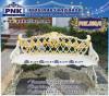 PNK 808/3 ม้านั่งสนาม ลายสุดที่รัก ยาว 135 ซม.