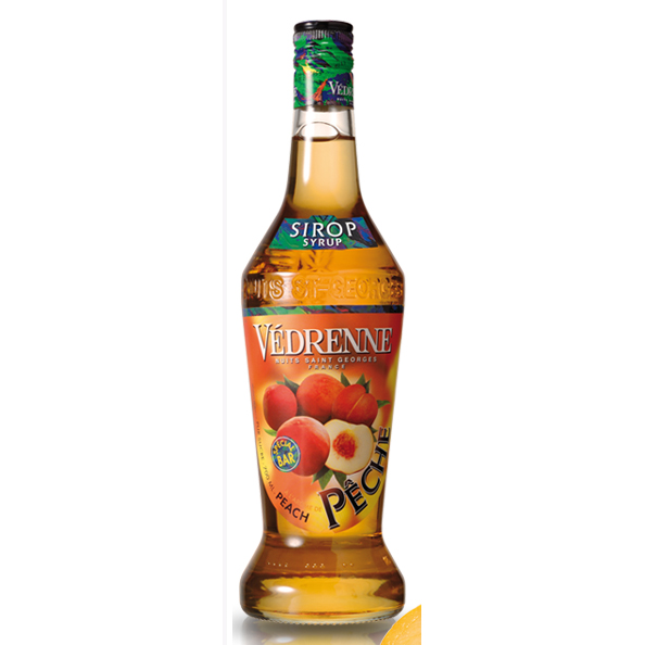 Vedrenne Peach Syrup