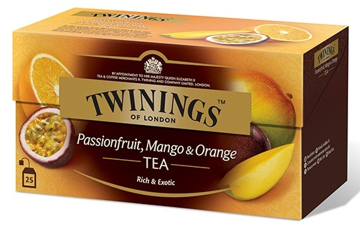 Twinings  Passion Fruit , Mango  Orange